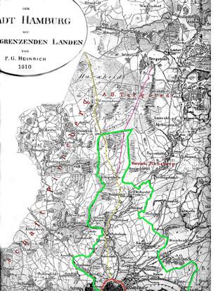 Langenhorner Grenzen 1810