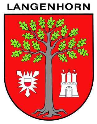 Langenhorn Wappen